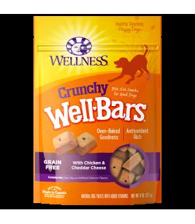 Wellness WellBars Chicken & Cheddar Cheese 8oz
