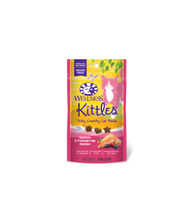 Wellness Kittles Salmon & Cranberries for Cat 2oz