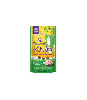 Wellness Kittles Duck & Cranberries for Cat 2oz