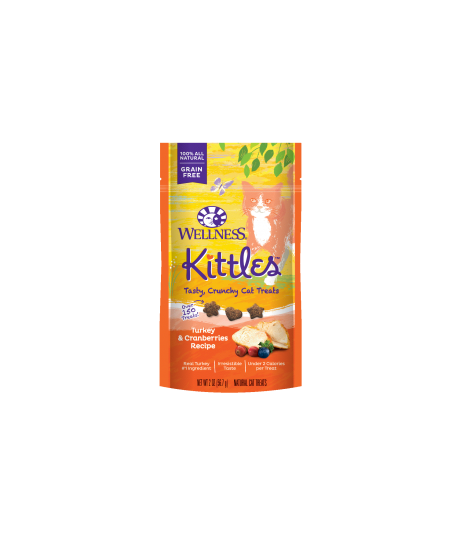 Wellness Kittles Turkey & Cranberries for Cat 2oz