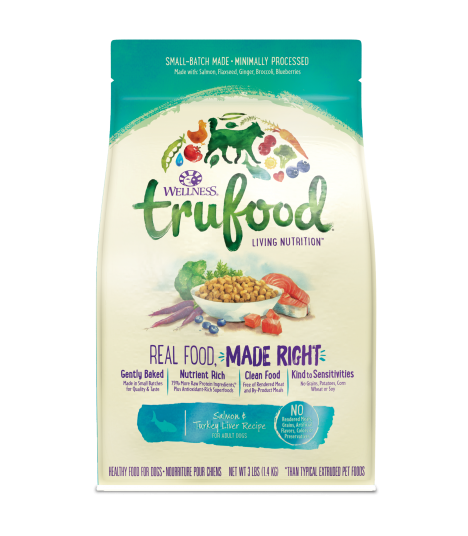 Wellness Trufood Salmon & Turkey Liver for Dog