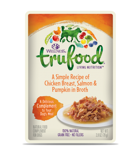 Wellness Trufood Chicken Breast, Salmon & Pumpkin Meal Toppers 2.8oz
