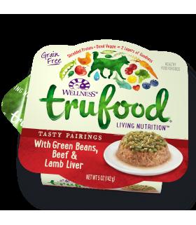 Wellness Trufood Tasty Pairings Green Beans, Beef & Lamb Liver 5oz
