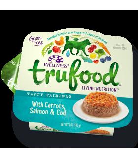 Wellness Trufood Tasty Pairings Carrots, Salmon & Cod 5oz