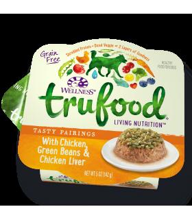 Wellness Trufood Tasty Pairings Chicken, Green Beans & Chicken Liver 5oz