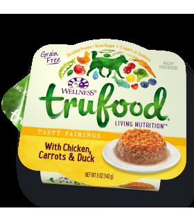 Wellness Trufood Tasty Pairings Chicken, Carrots & Duck 5oz