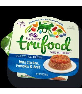 Wellness Trufood Tasty Pairings Chicken, Pumpkin & Beef 5oz